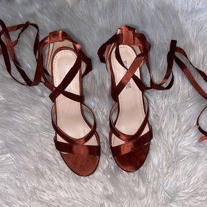 Public Desire chunky heels. Worn once